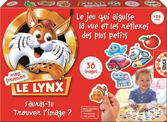 לינקס  LYNX - פיתוח חוש זיהוי מהיר של תמונות - 36 כרטיסים