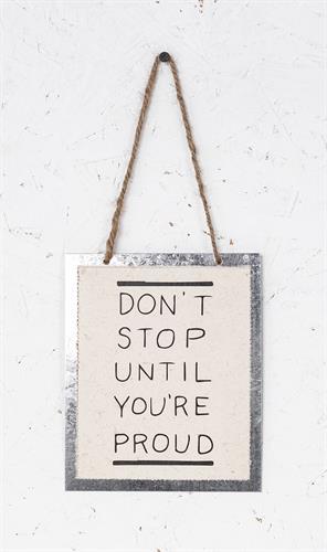 שלט - DON'T STOP