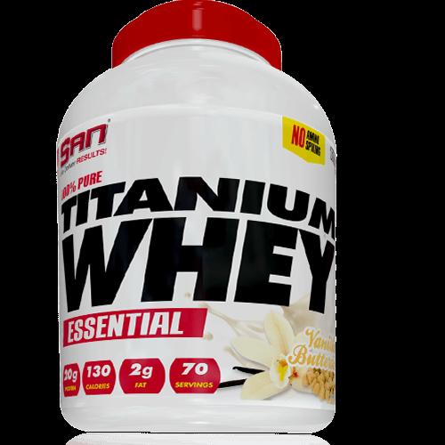 -- חלבון Titanium - קרם וניל -- 70 מנות