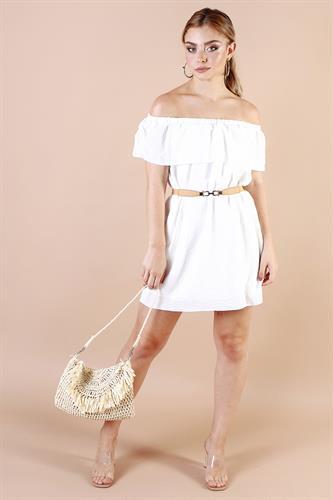 שמלת אווה לבנה