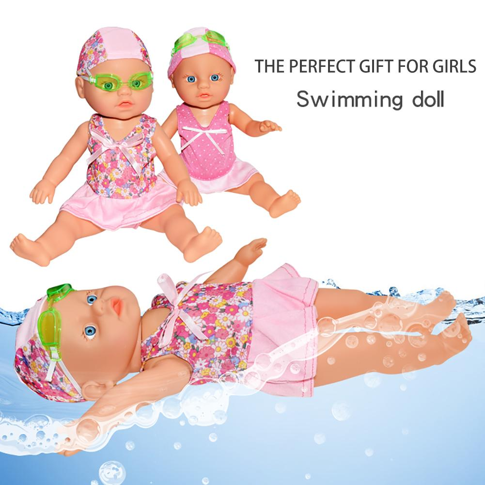 הבובה השוחה swimming doll