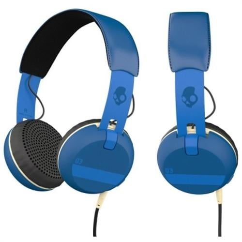 אוזניות קשת עם מיקרופון Skullcandy GRIND Blue