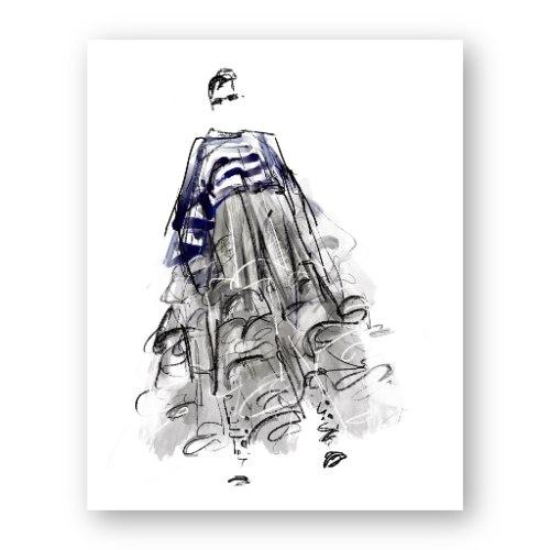 איור אופנה #16