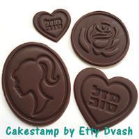 תבנית מיקס ברכות - 4 יחידות שונות בתבנית - ליצירה בשוקולד
