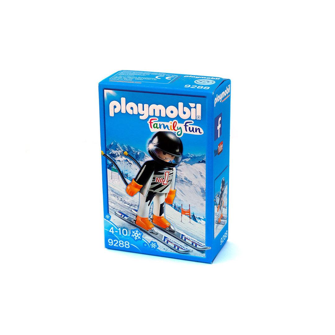 פליימוביל 9288 איש גולש על שלג playmobil
