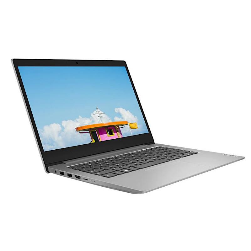 """מחשב נייד IP Slim 1-14AST AMD A6-9220e 4GB 64GB 14"""" FHD Win10S + Office 365 Platinum Grey"""