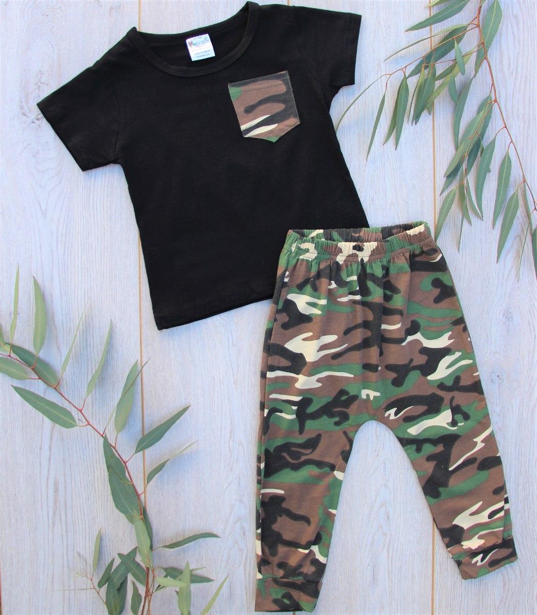 חליפה צבאית שחור