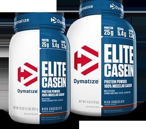 אבקת חלבון דימיטייז עלית קזאין   Dymatize Elite Casein