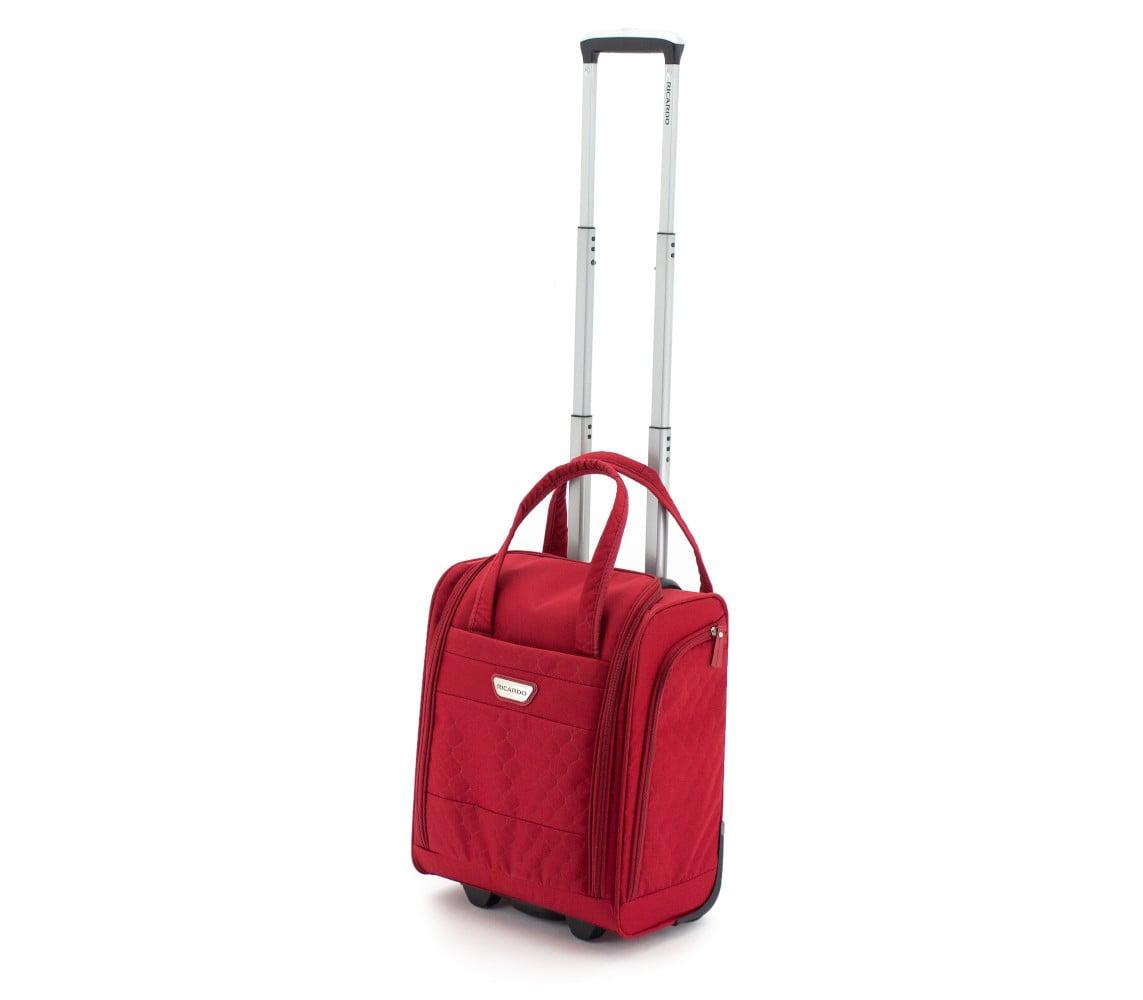 מבצע מטורף! מזוודה עלייה למטוס RICARDO BEVERLY HILLS דגם ANNADEL- אדום