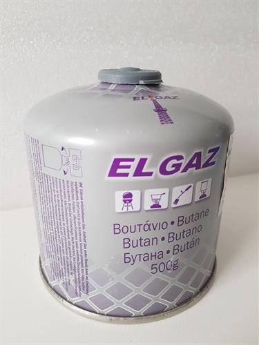 מיכל גז הברגה 500 גרם - איסוף עצמי בלבד !