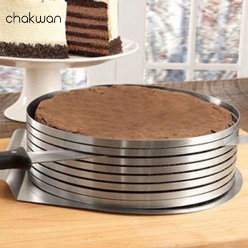 חותך עוגות מנירוסטה בצורה מושלמת