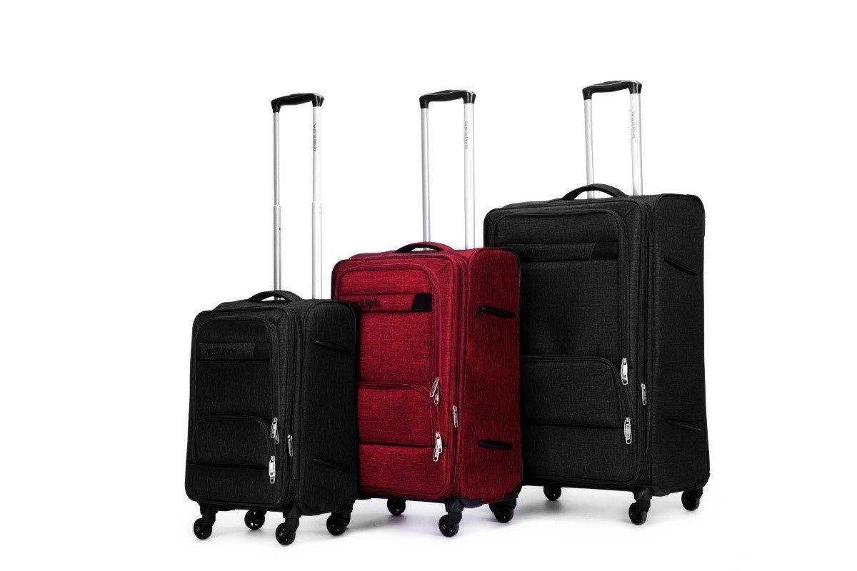 """מזוודה 24"""" עליה למטוס איכותיות SWISS  - אדום"""