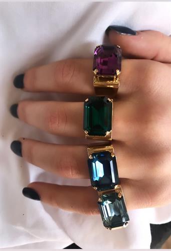 טבעת מישל זהב