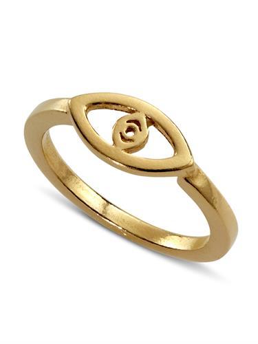 טבעת עין זהב