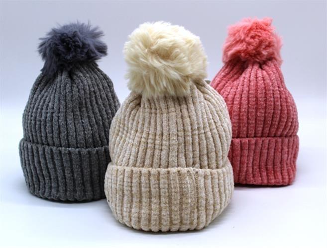כובע צמר רך לנשים