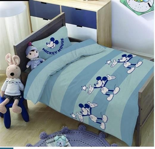 מיטת מעבר מיקי מאוס  100% כותנה