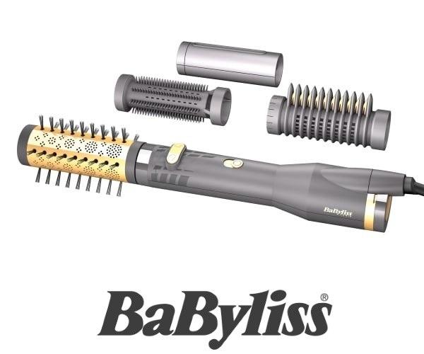 BaByliss מברשת מתקדמת לייבוש שיער דגם AS520E