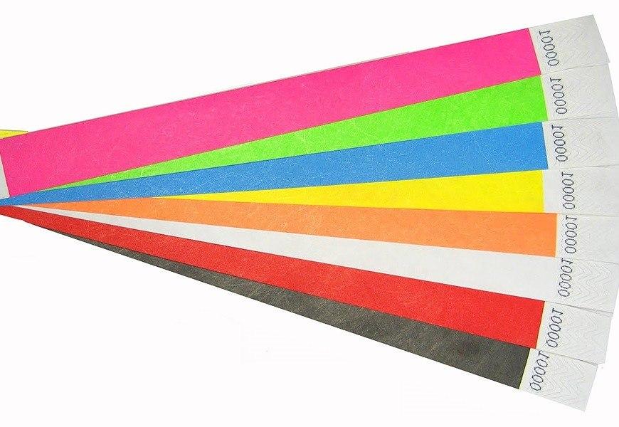 5000 צמידי נייר חלקים