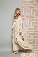 שמלת GOLD חום