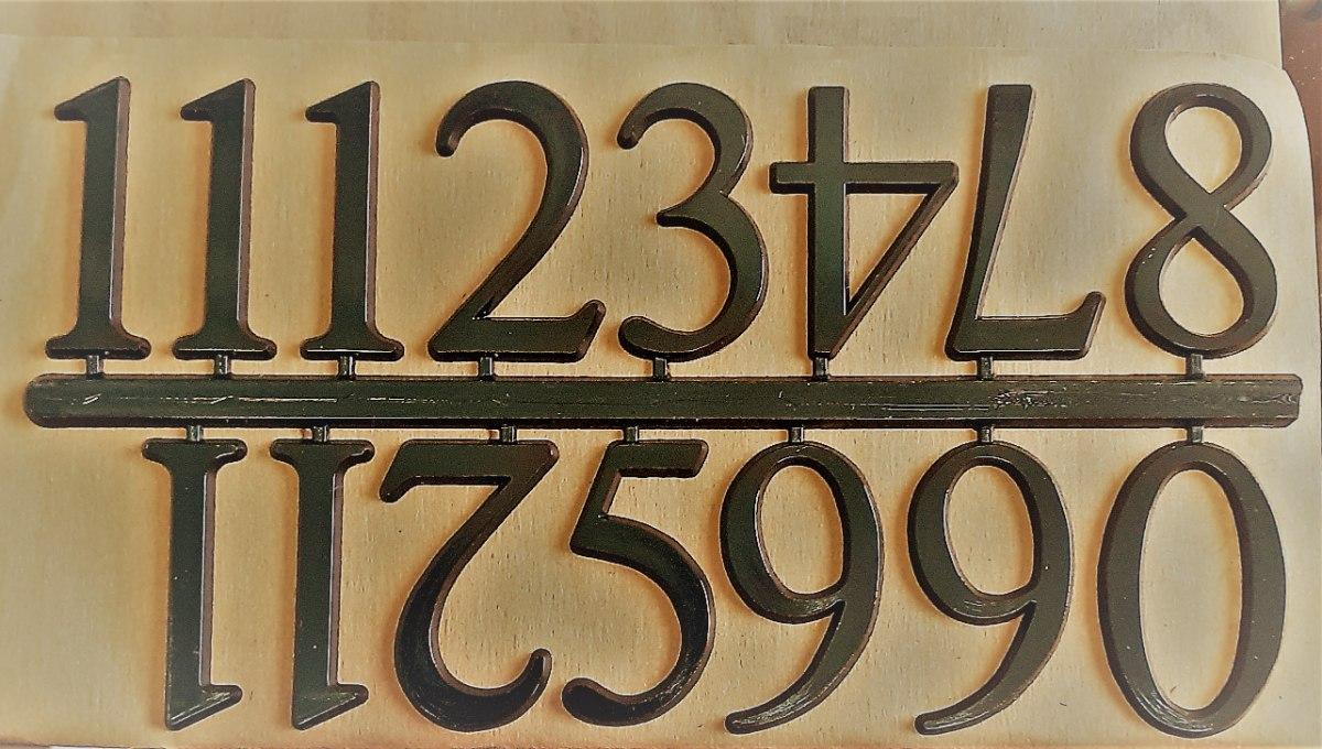 ספרות לשעון קיר 3 מידות 2 סטים