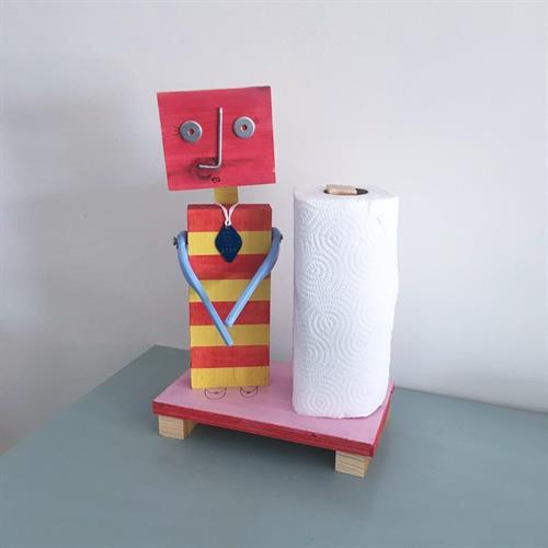 עיצוב בעץ - רובוטים בשירות האדם