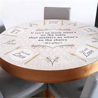 מפת שולחן פיויסי דקורטיבית- קלסיקה מודרנית ל-שולחנות מעוצבים