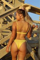 תחתון איב כיווצים צהוב