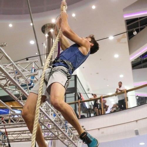 Extreme Climb - מגדל טיפוס לאקרובטיקה אווירית