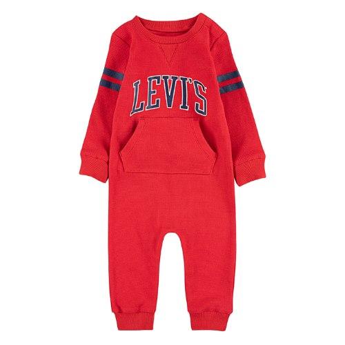 אוברול תינוקות אדום LEVIS