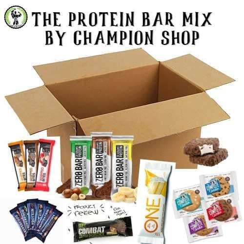 THE PROTEIN BAR MIX|מארז 8 יח חטיפי חלבון הכי נמכרים במחיר מוזל!