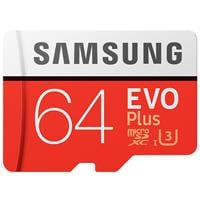 כרטיס זיכרון U3 MicroSDXC samsung EVO Plus Memory Card Adapter 64GB ומתנה