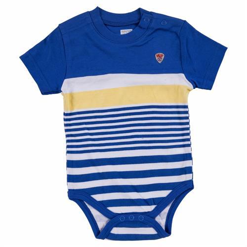 בגד גוף 7173 כחול - צהוב - לבן