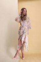 שמלת שיפון נרקיס