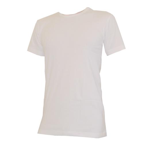 ארבע חולצות T סריגמיש, קצרות, צבע לבן או זית, כותנה סרוקה, איכות סופר גבוהה