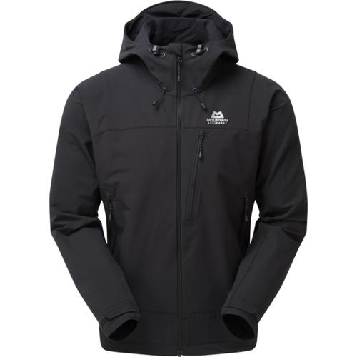 סופטשל שחור דגם Mountain Mission Jacket