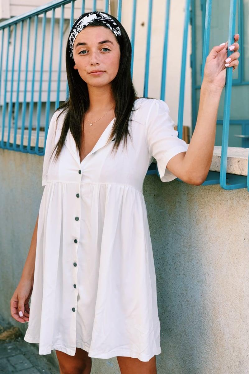 שמלת טייטום OV כפתורים