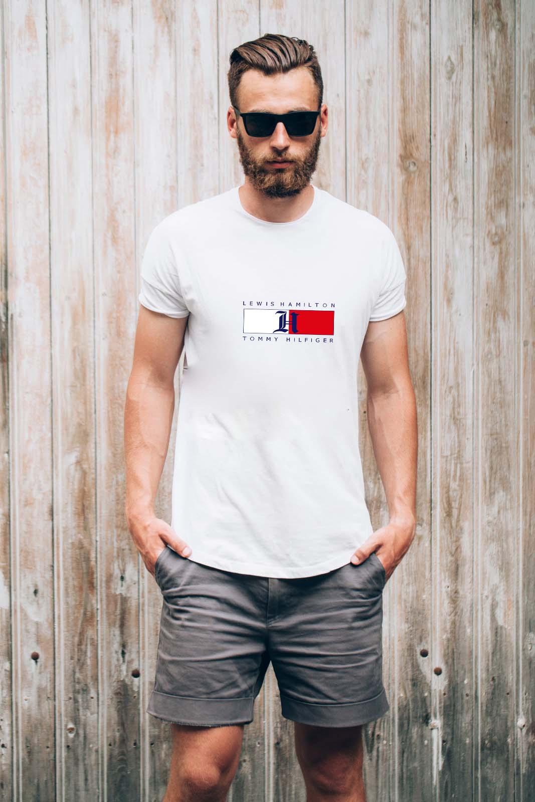 חולצות T של טומי במגוון צבעים