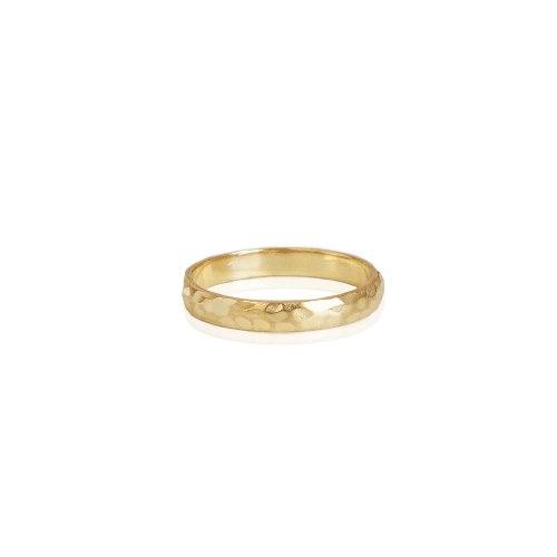 טבעת נישואין לאישה מרוקעת רחבה מידות 13-30