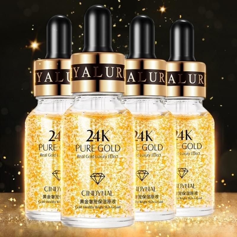 סרום פני חרסינה - סדרת 24K זהב
