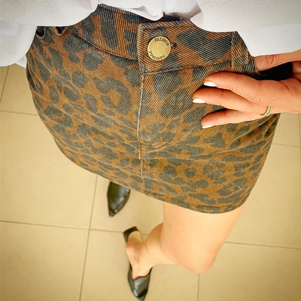 חצאית טייגר ג׳ינס