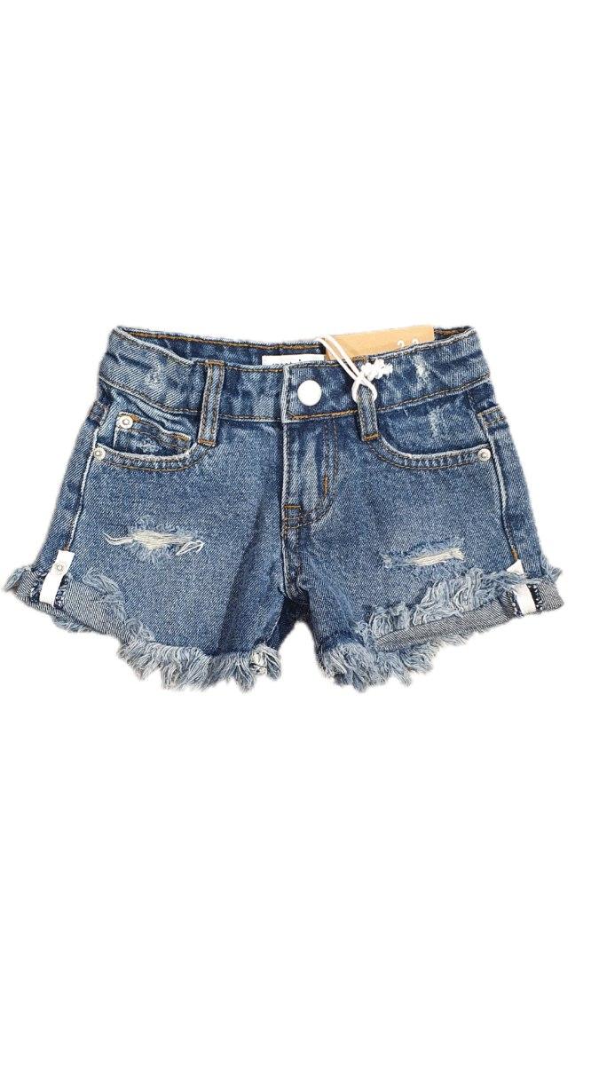 ג'ינס כהה  קרעים (2-16)