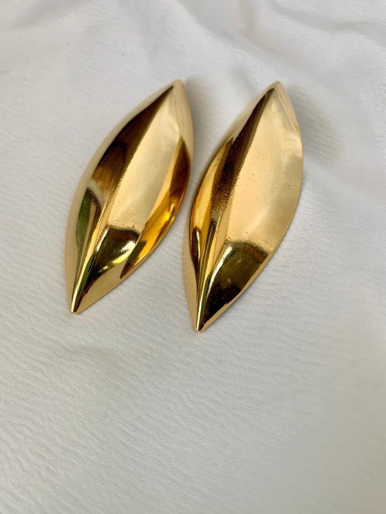 עגילי טיילור זהב