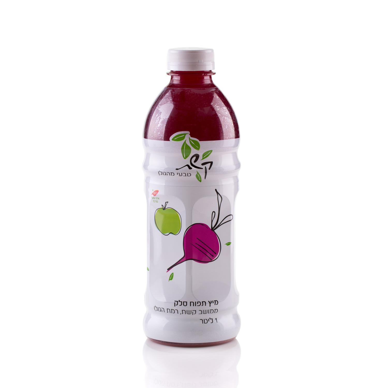 מיץ סלק ותפוחים 100% טבעי