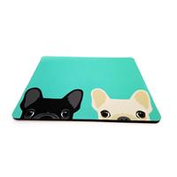 פד מעוצב לעכבר | משטח לעכבר מחשב דגם כלבים טורקיז