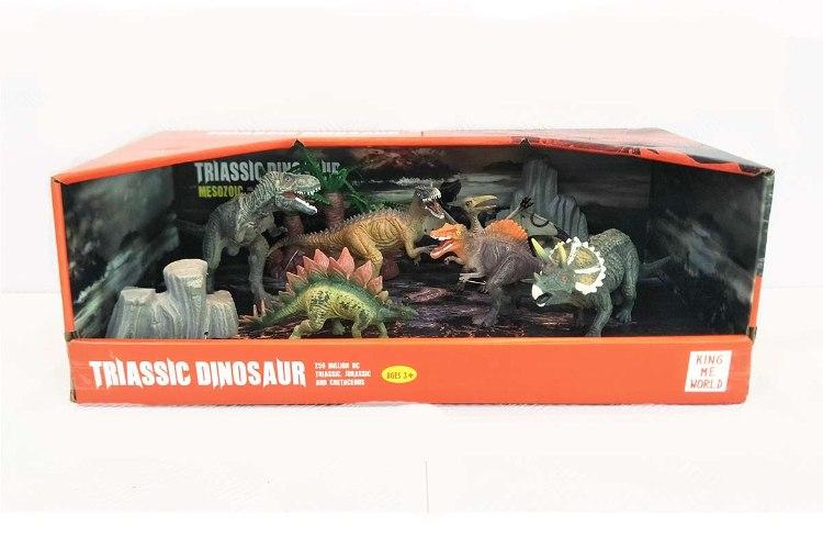 ערכת דינוזאורים בינונית