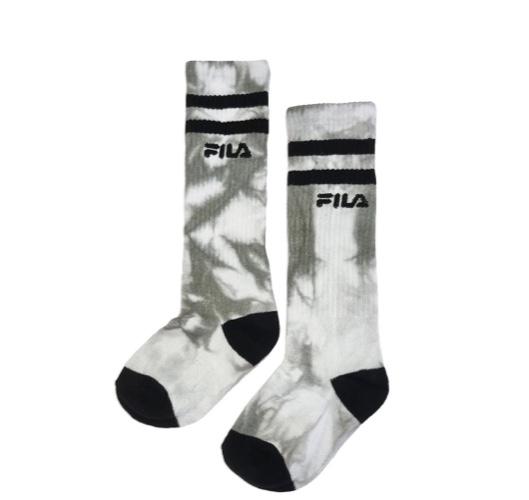 Fila גרביים גבוהות טאי דאי אפור מידות 25-39