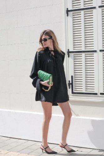 שמלת קיארה שחור