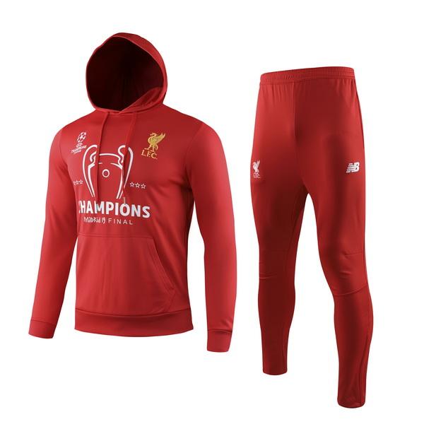 חליפת קפוצון ליברפול אדומה