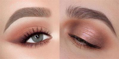 20 גוונים של צלליות עיניים בגימור מט, מטאלי ומבריק למראה איפור מושלם