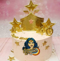 WONDER WOMAN CROWN Chocolate mold | Crown DIY Sugar Craft Fondant Chocolate Mold Decorating Tools